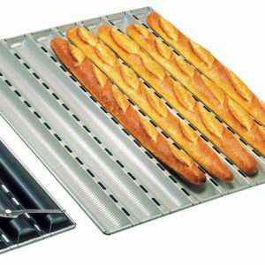 French Bread Pan, 6 Channels, 2 3/8