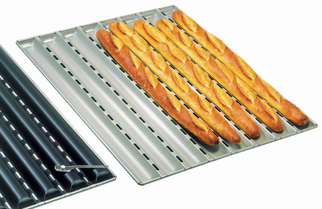 French Bread Pan Matfer Usa Kitchen Utensils