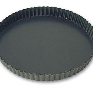 Steel Non-Stick Fluted Tart Mold