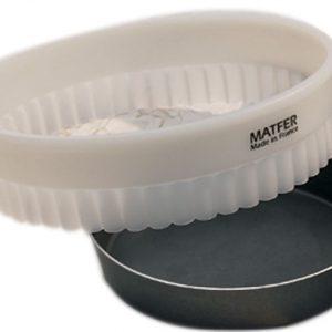 Matfer Bourgeat Exal® Aluminum Cake Mold, Plain, Nonstick, 4