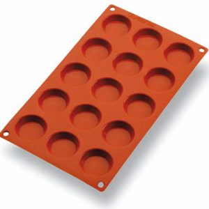 Matfer Bourgeat Gastroflex® Mini Tartlet Mold, 1 3/4