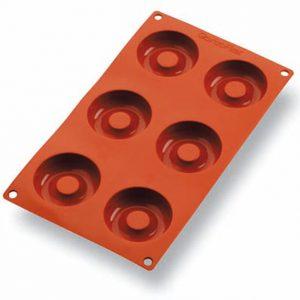 Matfer Bourgeat Gastroflex® Savarin Mold, 2 9/16