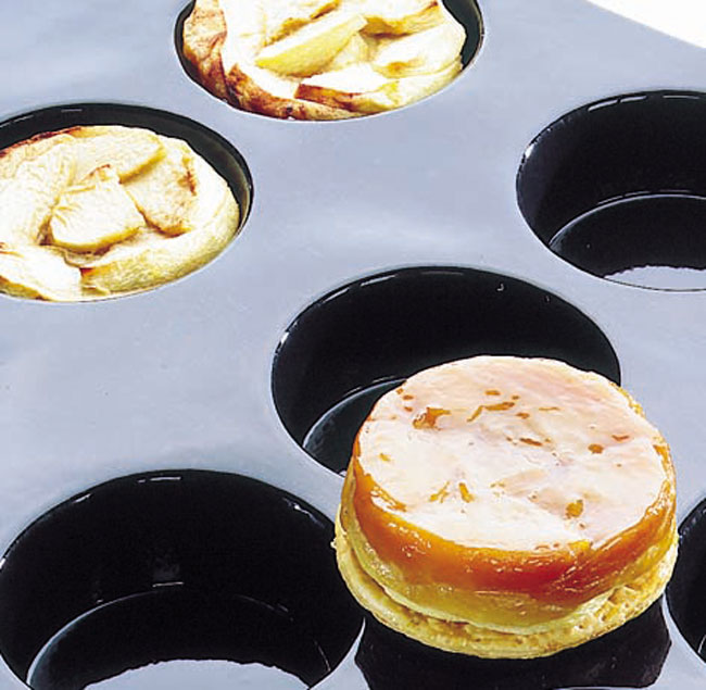Flexipan 174 Tatin Apple Tarts Quiches Mold Matfer Usa