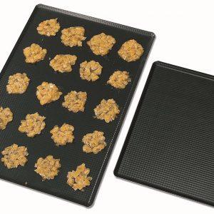 Matfer Bourgeat Exal® Aluminum Embossed Baking/Oven Sheet, Nonstick