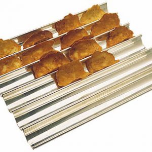 Tuiles and Discs Stainless Steel Baking Sheet 13 3/4