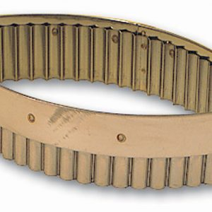 Oval Fluted Cutter, 6 1/4