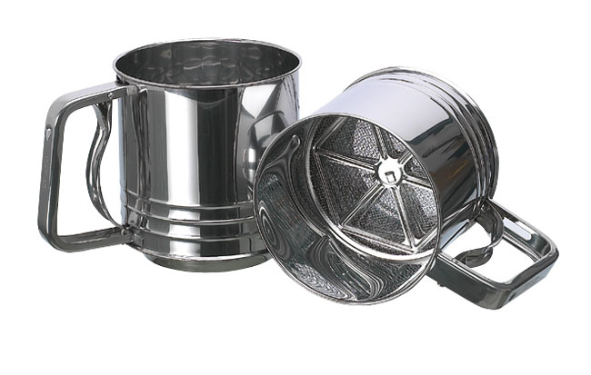Automatic Flour Sieve Matfer Usa Kitchen Utensils