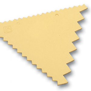 3 Sided Decorating Comb 3 5/8