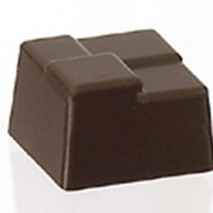 POLYCARBONATE WICKERWORK SQUARE SWEETS MOLD