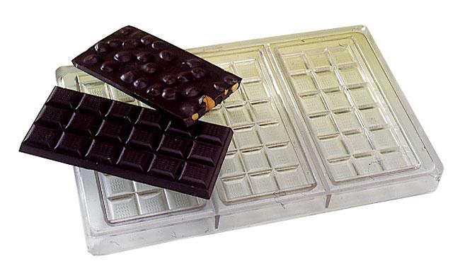 Chocolate Tablets Mold Matfer Usa Kitchen Utensils