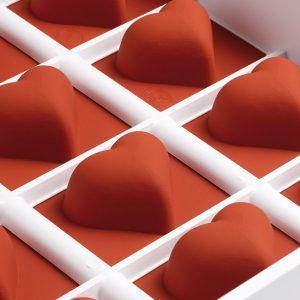 FRUIT JELLY FLEXIBLE HEART MOLD
