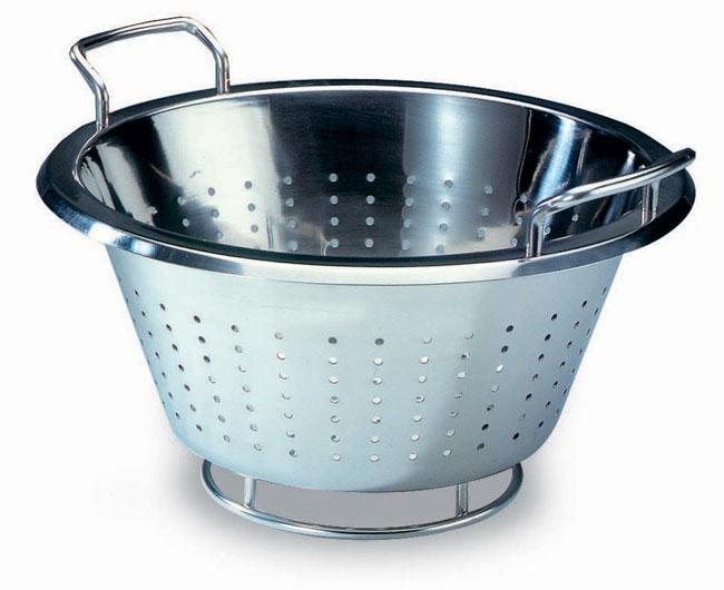 Stainless Steel Conical Colander Matfer Usa Kitchen Utensils