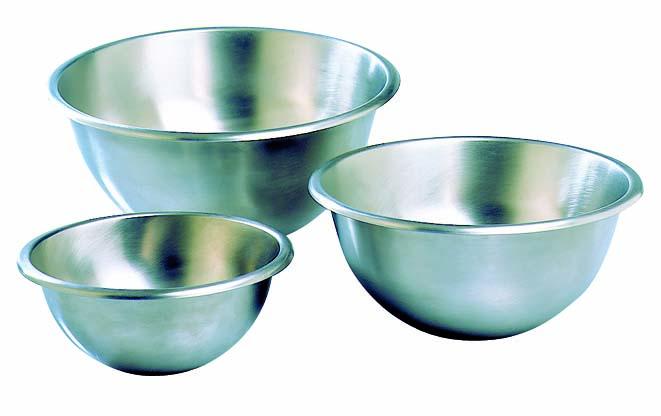 Hemispherical Bottom Mixing Bowl Matfer Usa Kitchen Utensils