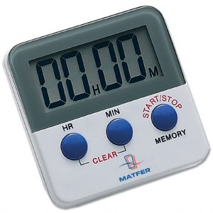 20 Hour Digital Timer Magnet Back and Clip