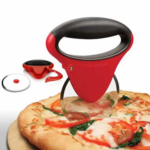 Microplane Red Pizza Cutter Matfer Usa Kitchen Utensils