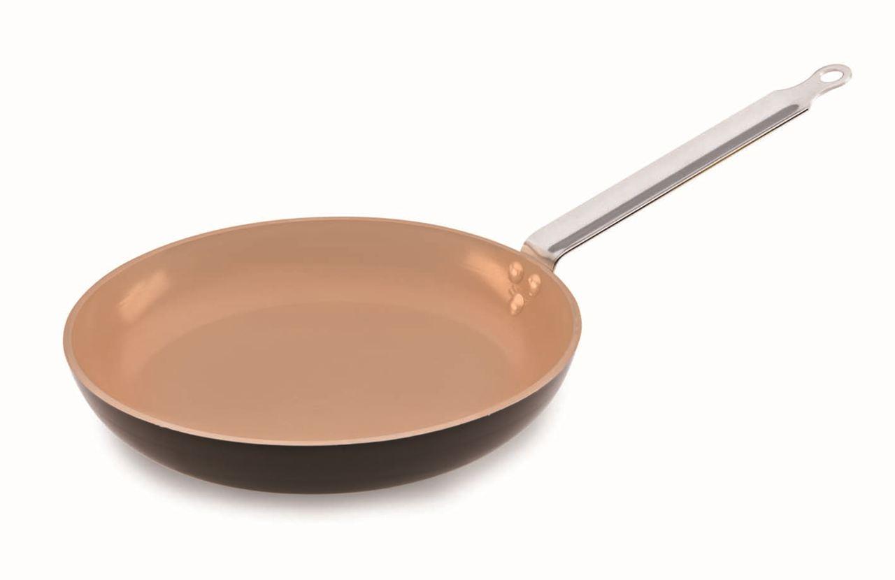 elite ceramic fry pan matfer usa kitchen utensils. Black Bedroom Furniture Sets. Home Design Ideas