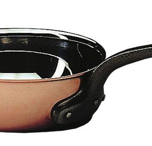 Bourgeat Copper Flared Saute Pan Without Lid