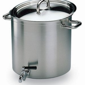 Bourgeat Excellence Stockpot With Lid and Faucet