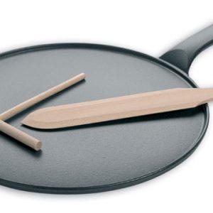 Le Chasseur Cast Iron Crepe Pan 11 3/4