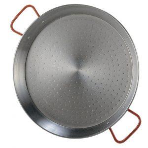 Polished Steel Paella Pan