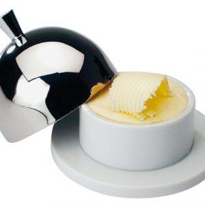 Porcelain Butter Dish 1/2