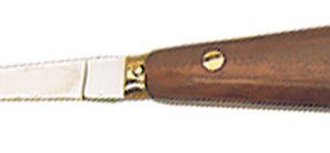 PROFESSIONAL OYSTER KNIFE - WOOD HANDLE