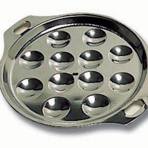 Escargot Plate, 12 Holes