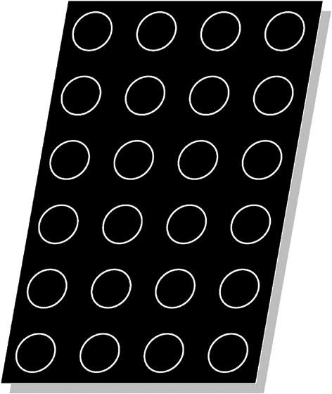 Flexipan 174 Cylinders Mold Matfer Usa Kitchen Utensils