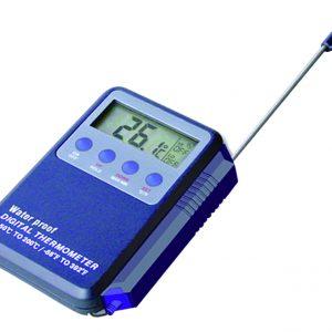 Watertight Digital Thrmometer with Alarm