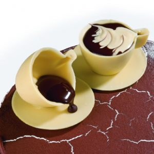 POLYCARBONATE 3 CUP SAUCERS MOLD