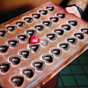 POLYCARBONATE HEARTS MOLD