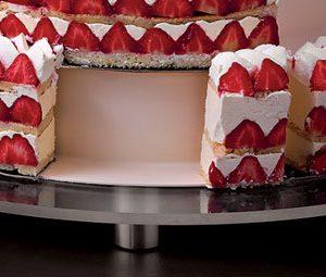 Round Plexiglass Stand for Wedding Cake 26 3/4