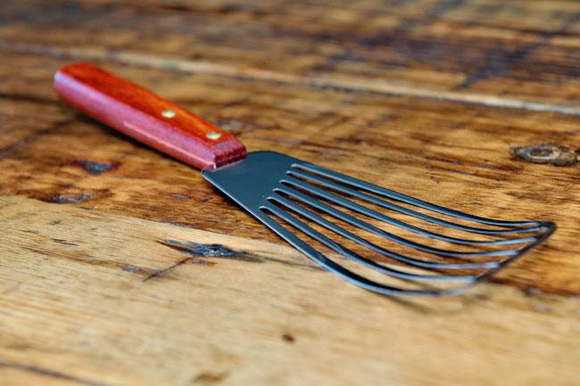 Fish Spatula Or Turner Matfer Usa Kitchen Utensils