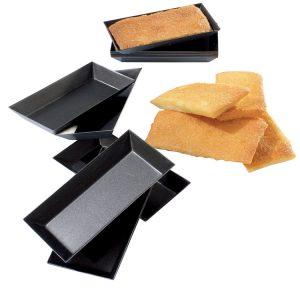 Matfer Bourgeat Exopan® Steel Rectangular Tart Mold, Nonstick, 3 3/4