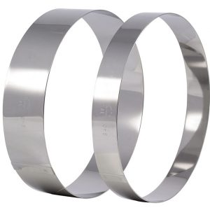 Stainless Steel Ice Cream or Cake Ring
