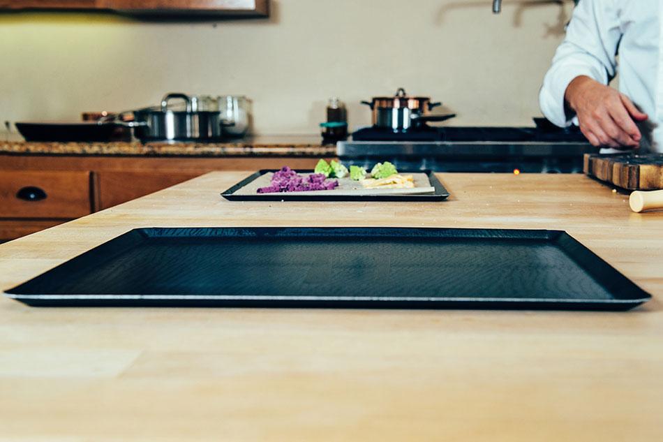 Blue Steel Oven Baking Sheet Matfer Usa Kitchen Utensils