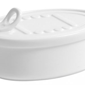 Petit Oval Box with Lid
