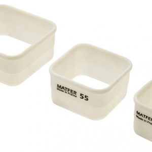 Exoglass® Square Pastry Cutters