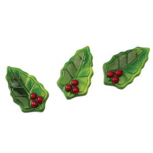 POLYCARBONATE HOLLY LEAVES MOLD
