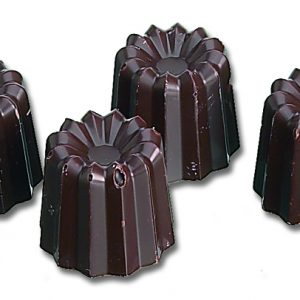 POLYCARBONATE SMALL CANNELE MOLD