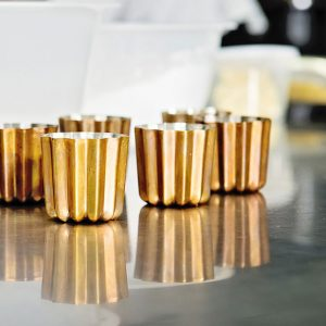 Cannele Copper Tin Lined Molds