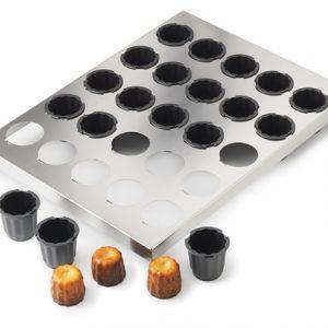 Exoglass® Cannele Baking Set