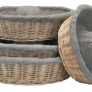 Banneton Linen Lined Crown Proofing Basket