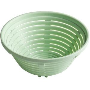 Matfer Bourgeat Polypropylene Aeration Bread Basket, Oval, 8 1/4