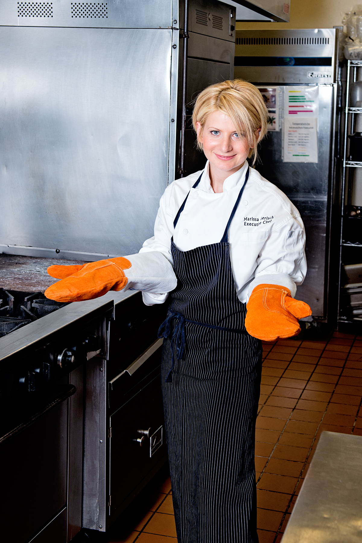 Matfer Protection Oven Mitts in Featured Chef Spotlight with Marissa Gerlach