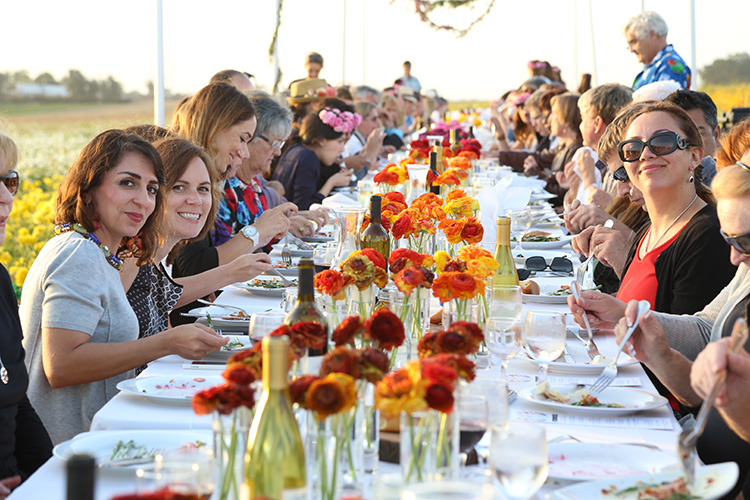Matfer Bourgeat Farm to Table Field to Vase Event The Flower Fields Carlsbad CA Chef Marissa Gerlach
