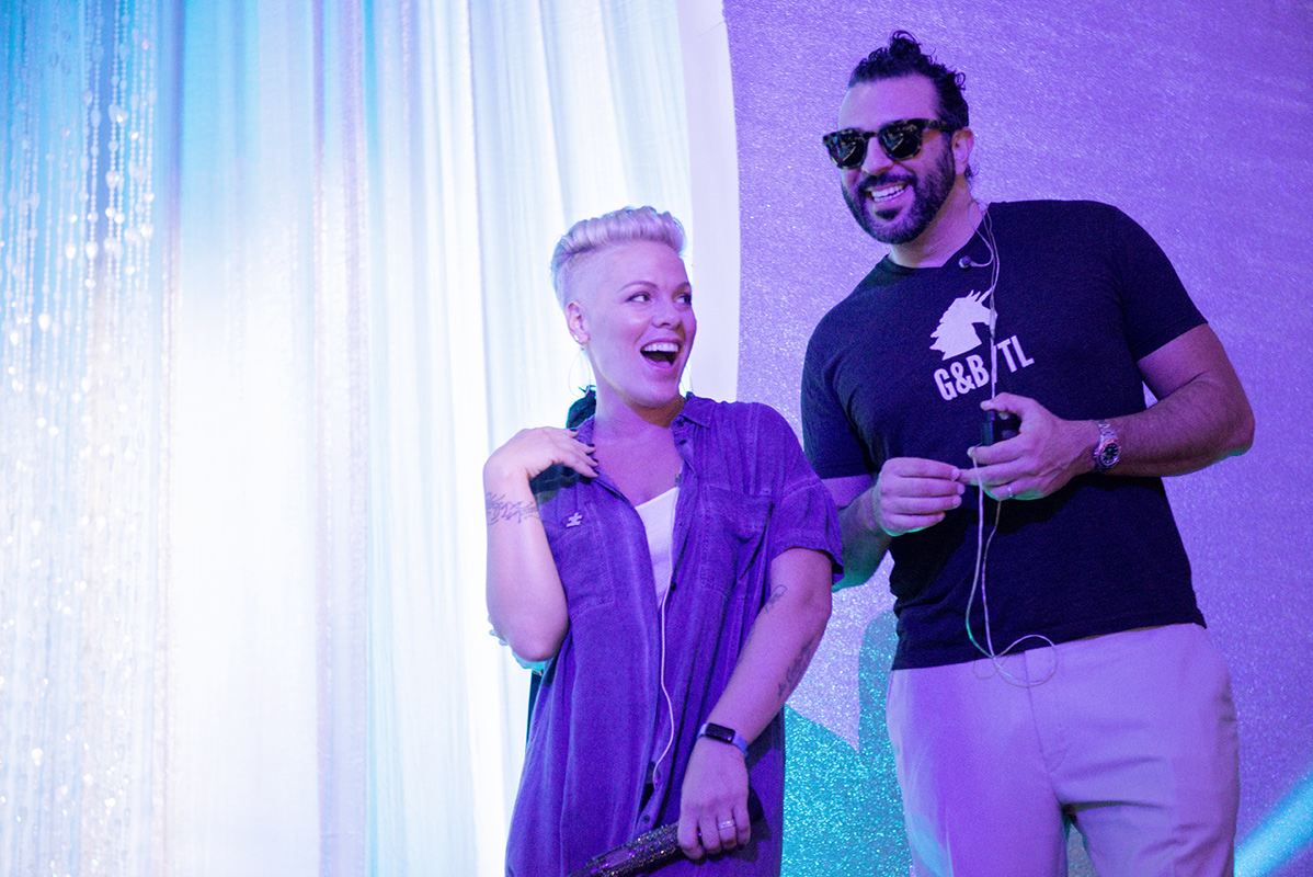 Singer P!NK at Autism Speaks to LA Celebrity Chef Gala - Matfer Sponsors Autism Speaks to LA Celebrity Chef Gala