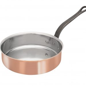 Bourgeat Copper Saute Pan Without Lid
