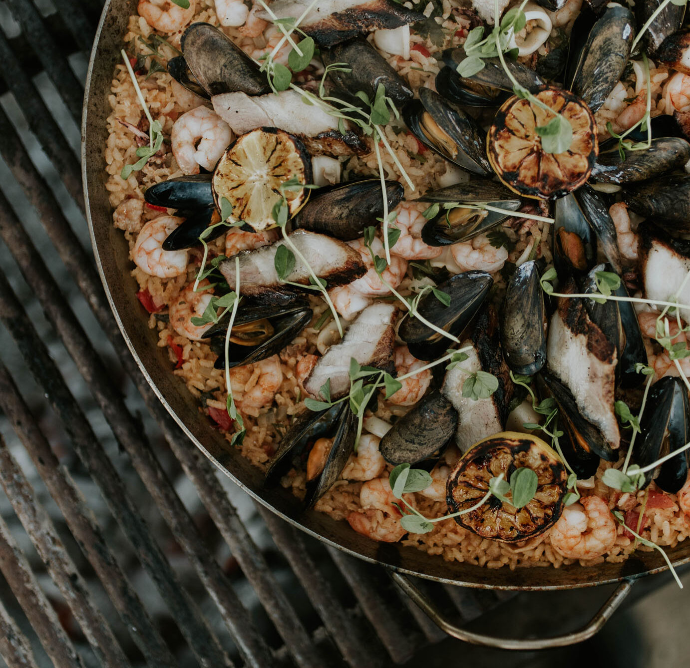 RECIPE: Campfire Paella with Ricky Yap