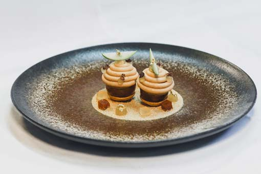 Tastes & Traditions: Foie gras with smoked apples by Grégoire Berger – Restaurant l'Ossiano – Dubai